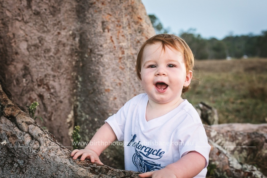 , Brisbane Family Photographer – Tyson's First Birthday!, Brisbane Birth Photography