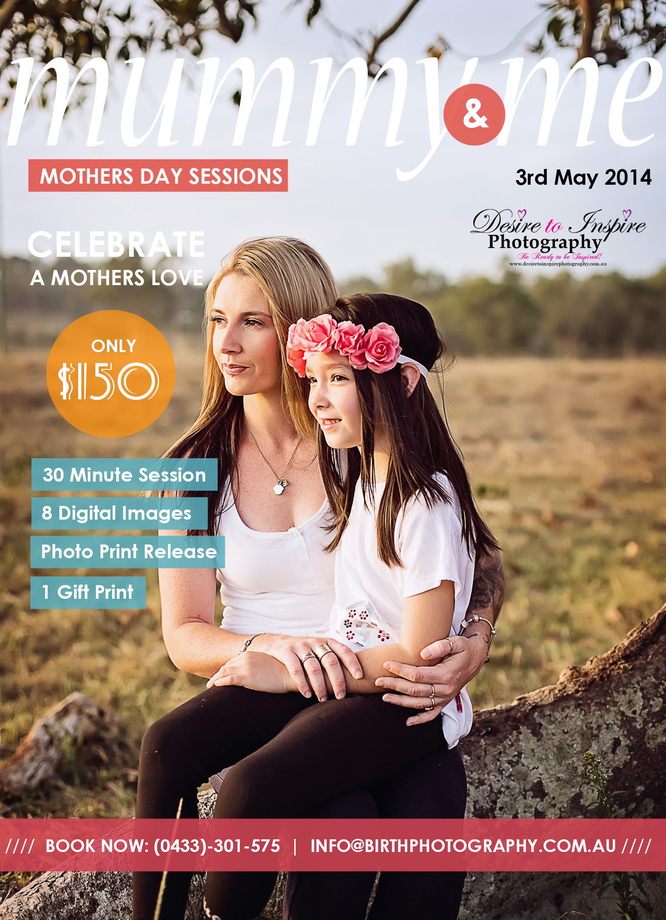 Mother's Day Special to good to miss!, Brisbane Birth Photography