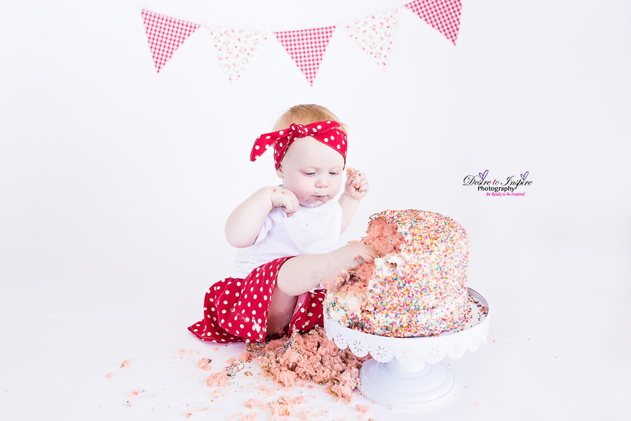 , Brisbane Cake Smash Photography – Abigail, Brisbane Birth Photography