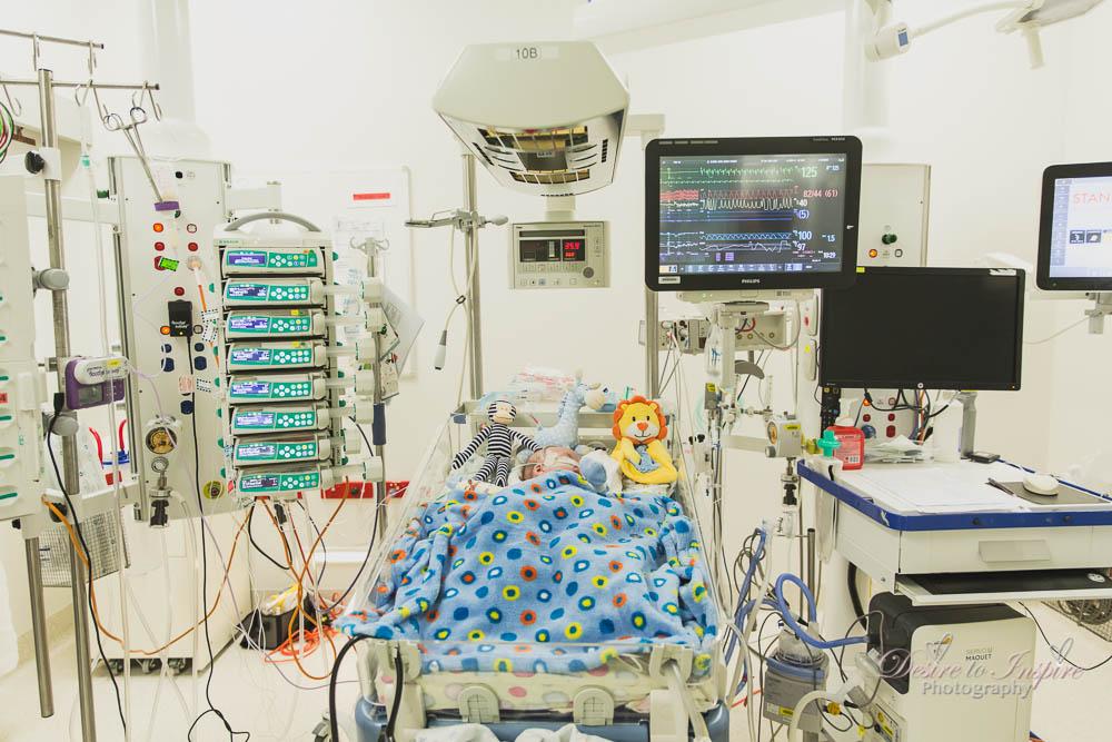 , Brisbane Birth Photographer – The journey of Nate's Open Heart surgery, Brisbane Birth Photography