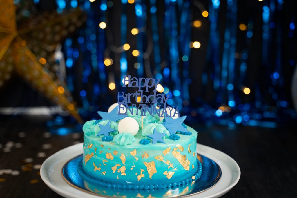 , Enyinnaya's In Studio Cake Smash. Brisbane Cake Smash Photographer, Brisbane Birth Photography