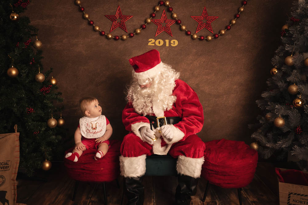 , Santa Sessions – Heathwood Studio, Brisbane Birth Photography