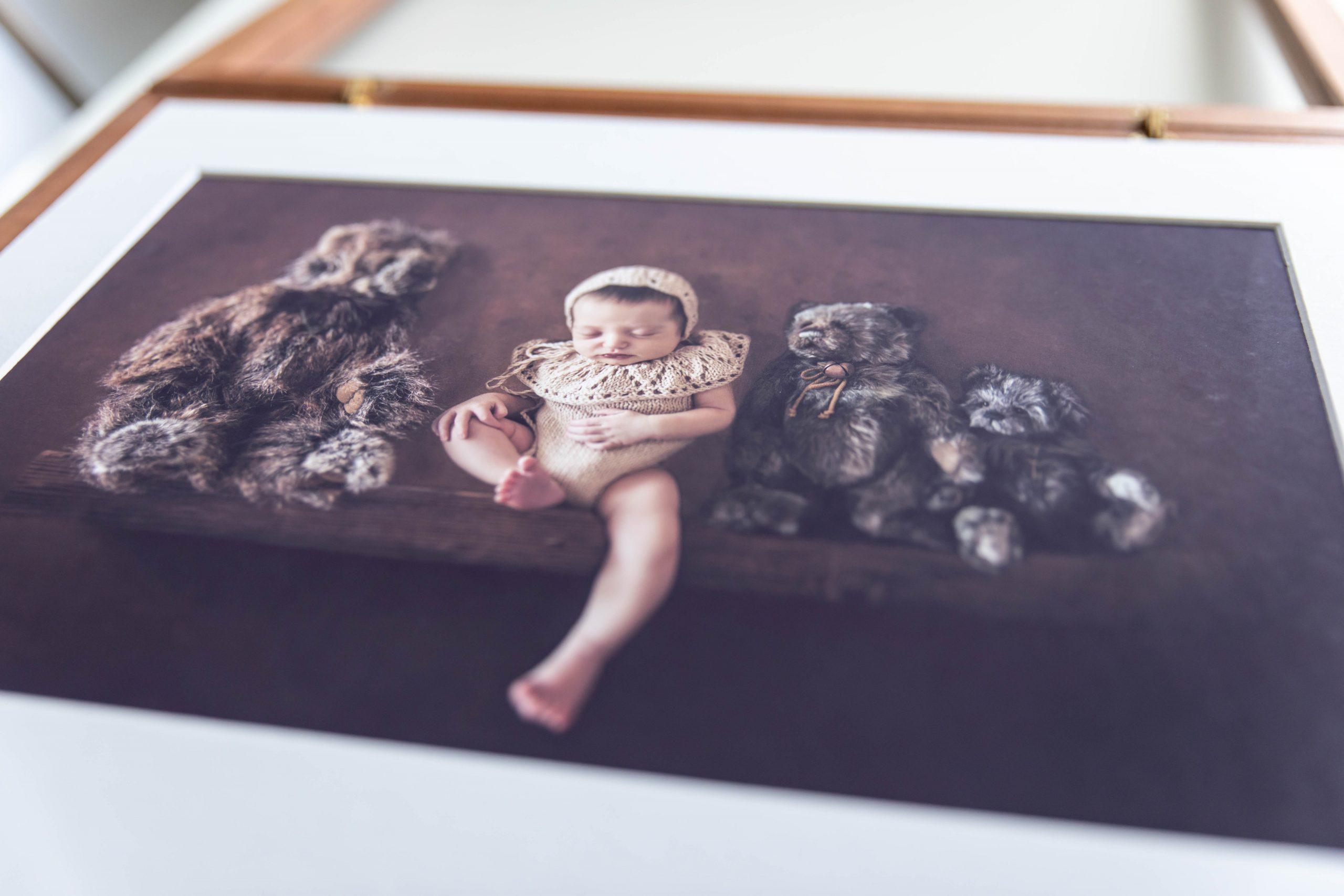 Wooden Portfolio Set