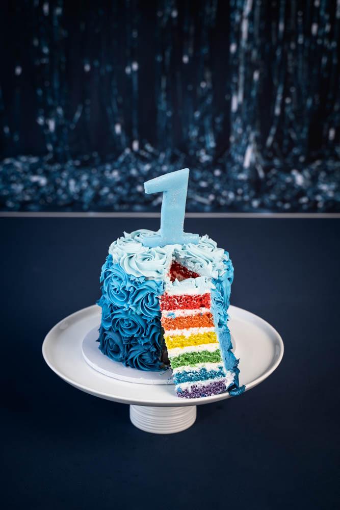 Hunter Cake Smash. Brisbane Cakesmash Photographer, Brisbane Birth Photography
