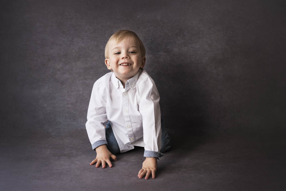 , Lucaa in studio Milestone. Brisbane Milestone Photographer, Brisbane Birth Photography