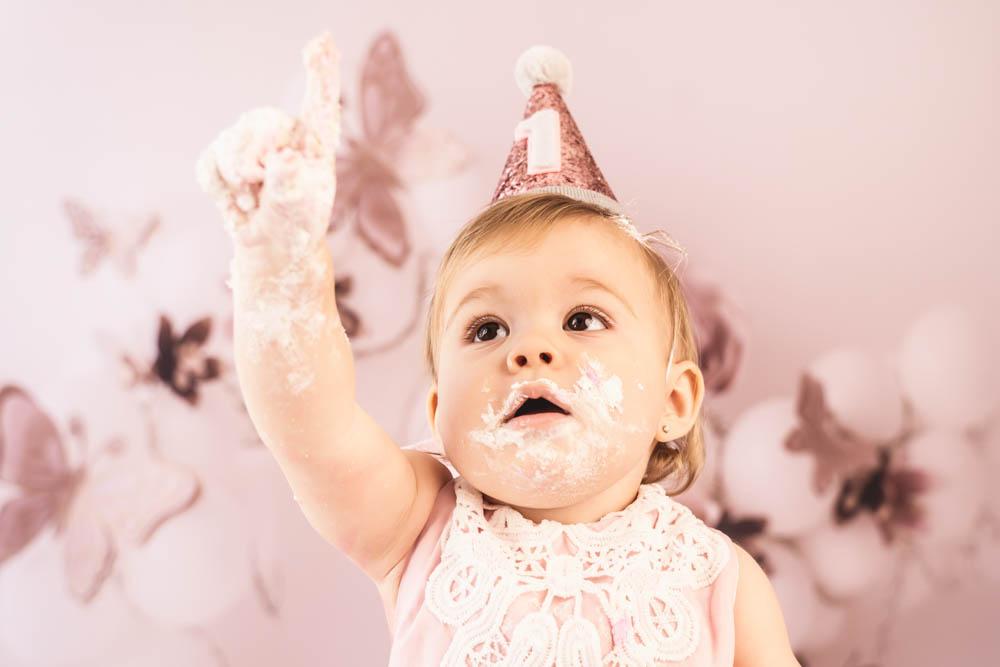 , Ayla's Cake Smash, Brisbane Birth Photography