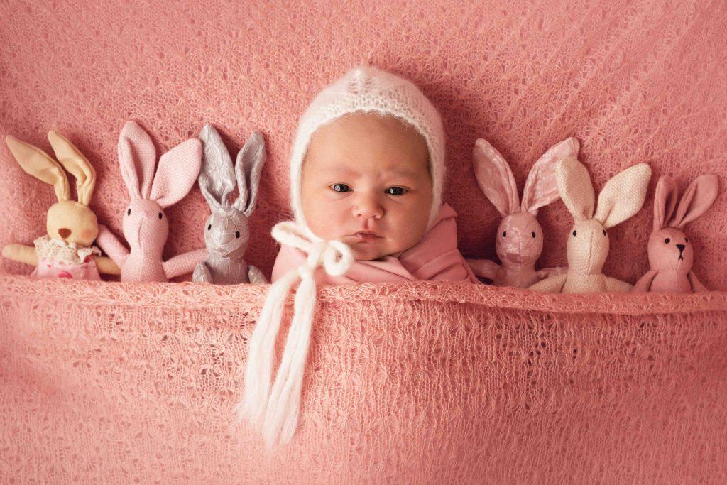 , Ivy Jane – In studio Newborn, Brisbane Birth Photography
