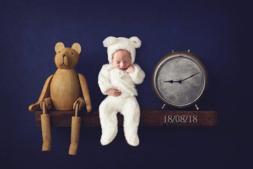 , Xavier Newborn – In studio, Brisbane Birth Photography