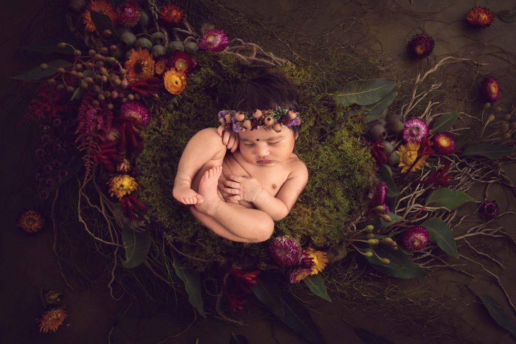 , Vidya Maternity and Newborn session – In Studio, Brisbane Birth Photography
