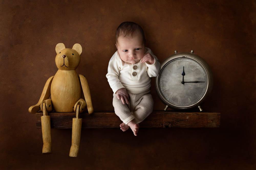 , Hunter's in studio newborn session. Desire to Inspire Photography, Brisbane Birth Photography