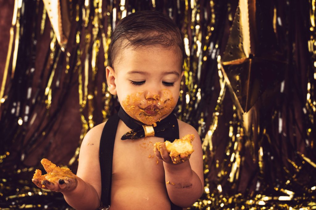 , Jayden's Cake Smash, Brisbane Birth Photography