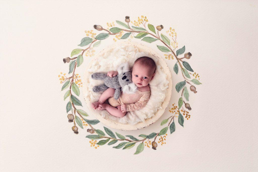 Little Miss Ruby – Newborn studio – Desire to Inspire Photography, Brisbane Birth Photography