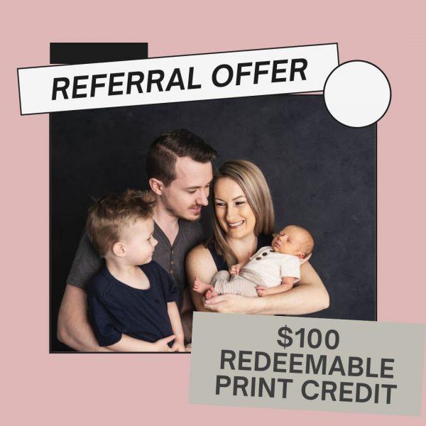 Referral offer
