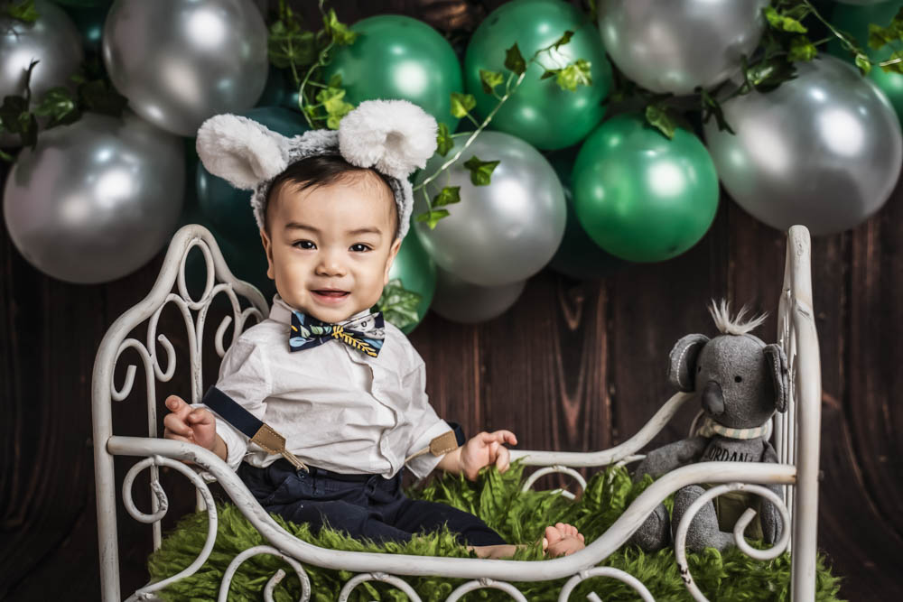 , Jordan Cake Smash – Desire to Inspire Photography, Brisbane Birth Photography