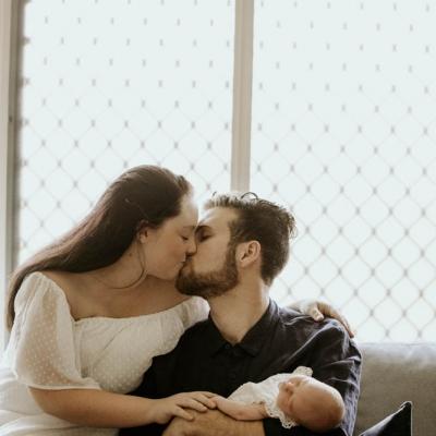 Lifestyle Newborn Session – Evie, Brisbane Birth Photography